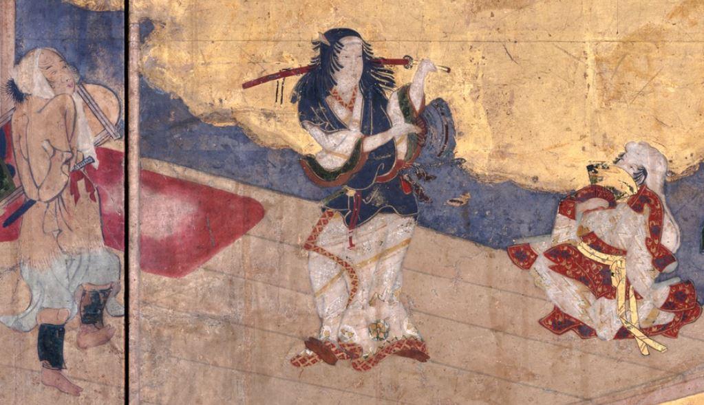 阿国歌舞伎図